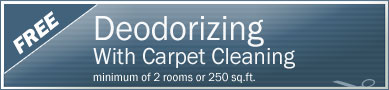 Cleaning Coupons | Free deodorising with carpet cleaning | NY'S Carpet Cleaners